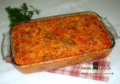Risotto al forno con polpettine, cucina preDiletta