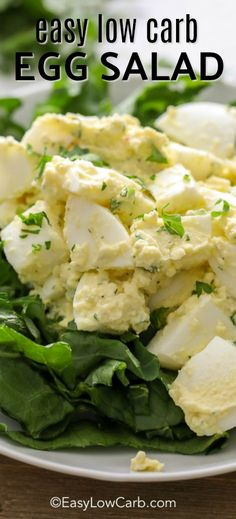 Healthy Man This easy low carb egg salad begins with fresh eggs, boiled to perfection, cooled and chopped. To this, crisp celery, zesty relish or pickles and a healthy dollop of mayonnaise are added to create this flavorful salad. Keto Egg Salad, Healthy Egg Salad, Easy Egg Salad, Healthy Eating, Keto Foods, Keto Approved Foods, Best Egg Salad Recipe, Healthy Salad Recipes, Diet Recipes