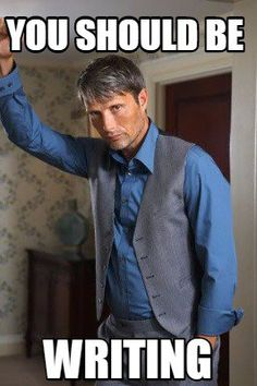 Mads Mikkelsen thinks you should be writing