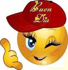 Girl smiley with ball cap Smiley Emoticon, Emoticon Faces, Funny Emoji Faces, Funny Emoticons, Smiley Faces, Love Smiley, Emoji Love, Cute Emoji, Images Emoji