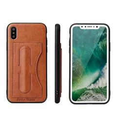 Cases With Card Slot & Kickstand  for iPhone X - Black,Brown,Green,Red   Awesome iPhone 10 iPhone X Apple Products link website cases awesome products shops store buy for sale website online shopping free shipping accessories  phone covers beautiful gifts ideas Mens Womens Buy Online Shopping Store Shop protective Free Shipping Best Cheap Bulk Wholesale Gift Ideas Cases Australia United States UK Canada Deals AuhaShop.com