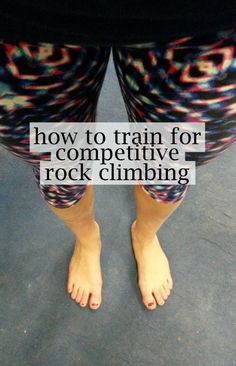 Great guide to learning how to train - applies to all sports! #climbing #rockclimbing #fitness