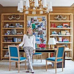 """""""We expect fashion insiders to have stunning wardrobes, but what about their offices? Peek inside the creative havens of @toryburch—whose Daniel…"""""""