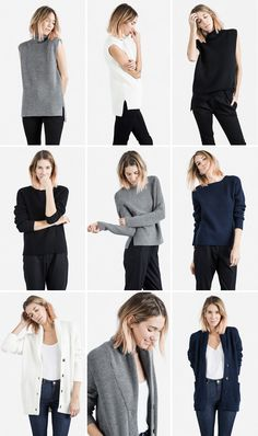 Le Fashion Blog -- Everlane Chunky Knit Collection -- With Ombre Pink Wavy Bob Haircut -- Sleeveless Turtleneck, Raglan & Cardigan Knits -- photo Le-Fashion-Blog-Everlane-Chunky-Knit-Collection-Caroline-Ventura-Wavy-Bob-Ombre-Pink-Hair-Sleeveless-Turtleneck-Raglan-Cardigan.png