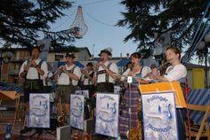 Un angolo folkloristico della festa bavarese di Lizzano in Belvedere. Si festeggia ogni anno a Luglio.