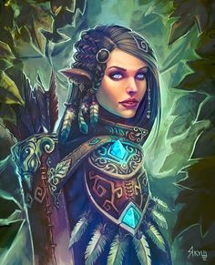 """""""Too many elves claim to be the last descendant of the great so and so; she was simply destined to be a so and so."""""""