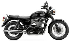 2014 Bonneville Black (via Triumph Motorcycles)
