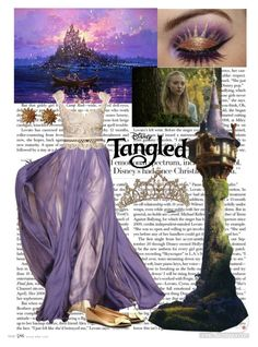 """""""Rapunzel"""" by sixela14 ❤ liked on Polyvore featuring Disney, Lanvin, TIARA and Chanel"""