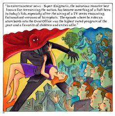 Samples of work by Richard Sala ~ Art ~ Comics Comic Art, Tv Series, Hero, Entertaining, Comics, Illustration, Illustrations, Cartoons, Comic