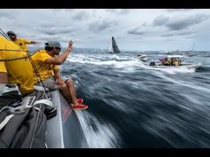 27 Days at Sea - Leg 1 in Review   Volvo Ocean Race 2014-15 - YouTube