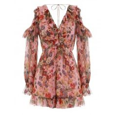 Shop for Lovelorn Frill Playsuit by Zimmermann at ShopStyle. Stage Outfits, Cool Outfits, Casual Outfits, Fashion Outfits, Womens Fashion, Australian Fashion Designers, Penelope, Moda Chic, Long Sleeve Romper