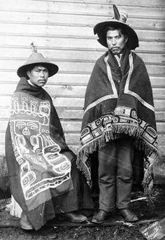 Members of the Tlingit Tribe