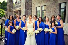 Gorgeous!  The bridesmaids' dresses are the same color as the ones for my sister-in-law!  :-) Blog - Elario Photography