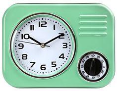 Åhlens clock with timer