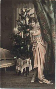 1900s Christmas Tree | ... tree christmas tree vintages cards tree vintage xmas christmas