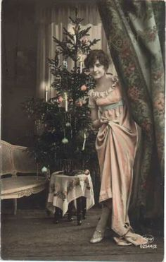 1900s Christmas Tree | ... tree christmas tree vintages cards tree vintage xmas christmas