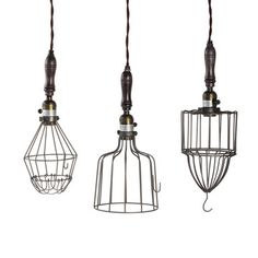 Found by Fab: Ceiling Lamps, Stripped Down