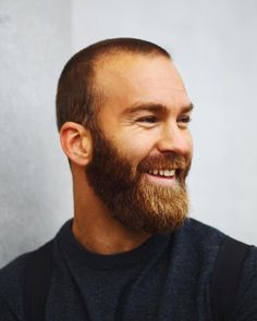 Popular Haircuts For Short Hair Men Beard Styles For Men, Hair And Beard Styles, Short Hair Styles, Brown Beard, Red Beard, Ginger Men, Ginger Beard, Great Beards, Awesome Beards