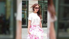 Victoria Beckham mezcla su look en Nueva York