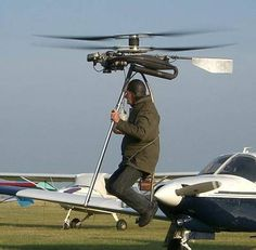 Résultat d'images pour Backpack Helicopter Personal Helicopter, Helicopter Kit, Jet Motor, Fly Plane, Donk Cars, Flying Vehicles, New Drone, Flying Car, New Inventions