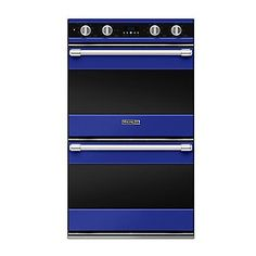 """Oh, I'm liking this! But again, would I get blue or red?! Tough decision! 30"""" Double Oven (RDDOE) in 24 Exclusive Finishes - Viking Range Corporation"""