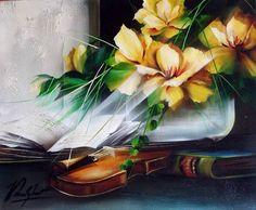 Мелодия для любимой. Raymond Poulet Art School, Sculpture, Abstract, Painting, Fashion Illustrations, Violin, Internet, Nature, Animals