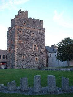 Castle of St John in Dumfries and Galloway, southwest Scotland. It was built by the Adairs of Kilhilt c.1510