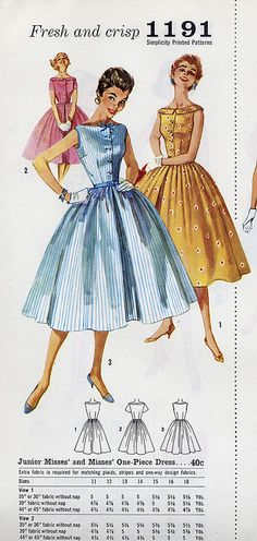 Simplicity 1191 by Millie Motts, via Flickr