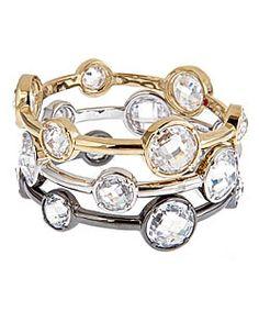 lauren g. adams stackable multi-shape bangles-Available at Valdosta Vault