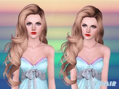 Hairstyle 246 set by Skysims by The Sims Resource - Sims 3 Hairs Sims 3 Cc Finds, Sims Baby, Hair Illustration, Hair Setting, Sims Resource, The Sims4, Toddler Hair, Free Hair, Cool Hairstyles