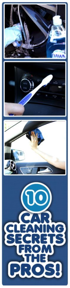 Cool ways to clean your car with Dawn and some other items you already have in .Cool ways to clean your car with Dawn and some other items you already have in your house! Car Cleaning Hacks, Car Hacks, Diy Cleaning Products, Cleaning Solutions, Car Care Tips, Clean Your Car, Diy Cleaners, Diy Car, Car Detailing