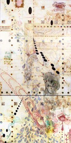 Lorraine Glessner. markmaking. grids. composition