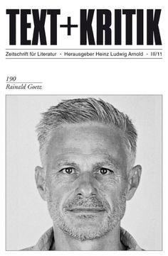Rainald Goetz -