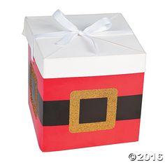 Santa Pop-Up Favor Boxes - OrientalTrading.com
