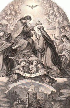 Crowning of the Most Holy Virgin Mary