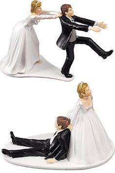 lot de 2 figurines des maris humoristiques les accessoires du mariage mariage vous - Figurine Mariage Humoristique Pas Cher