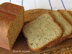 Bloc de recetas: Pan de espelta con pesto y tomates secos en panificadora
