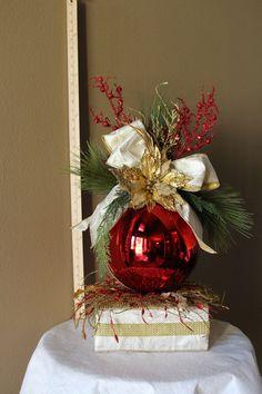 "Large Customizable Decorative 10"" Ornament Arrangement on Etsy, $109.00"