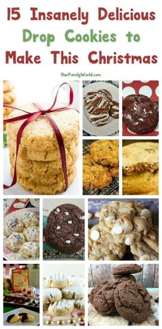 From chocolate chip to macadamia nut I have gathered up 16 amazing drop cookie recipes for you to try out this holiday season. Check them out now!