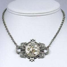 Steampunk Jewelry $54  www.boutiika.com