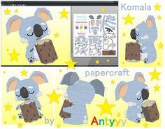 Komala papercraft by Antyyy.deviantart.com on @DeviantArt