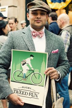 Prep - The Tweed Run, A metropolitan bicycle ride with a bit of style.