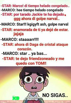 Se pasan con mi Marco