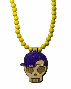 GoodWood NYC Authentic LA Snapback Skull Wooden Necklace GoodWood NYC. $45.00. Genuine GoodWood NYC crafted product.. Skull pendant on a 30-inch matching beaded chain.