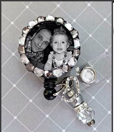 Photo ID badge reel by Badgetopia on Etsy, $11.00