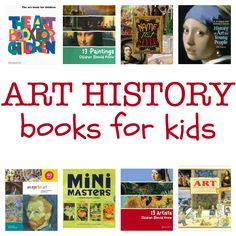 8 great books about art history for kids.