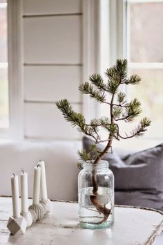 A touch of Scandinavian Christmas decorating inspiration