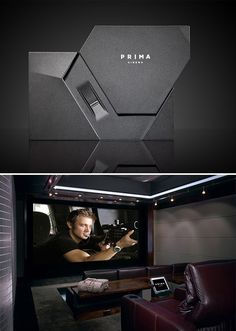Order current-release theatrical films in the comfort of your home theater with Prima Cinema. This will cost a whopping 35,000 dollars.