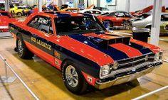 >1968 Dart< Red'Sox'Red'Patriot'Blue'Stripes...