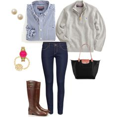 Preppy for Fall!